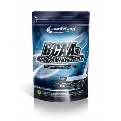 Ironmaxx BCAA + Glutamina 550g