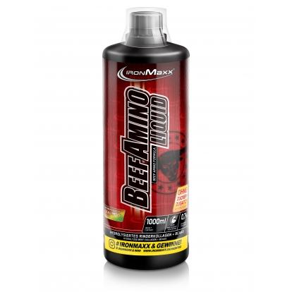Ironmaxx Beef Amino Liquid 1L