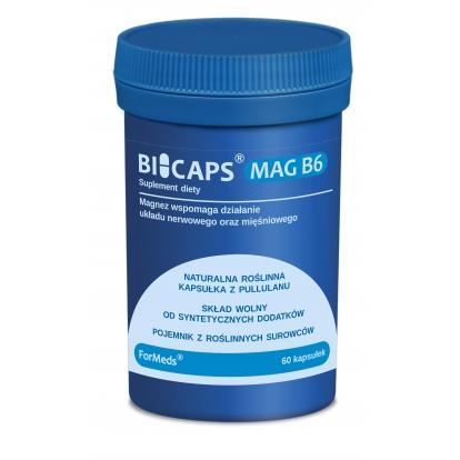 Formeds bicaps MAG B6 60 kaps.