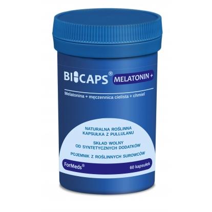 Formeds bicaps Melatonina+ 60 kaps.