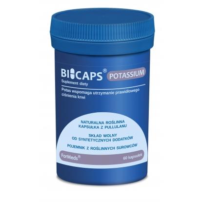 Formeds bicaps Potas 60 kaps.