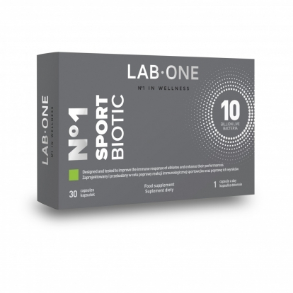 Lab One Sport Biotic 30 kaps.