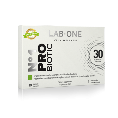 Lab One Probiotic 10 kapsułek