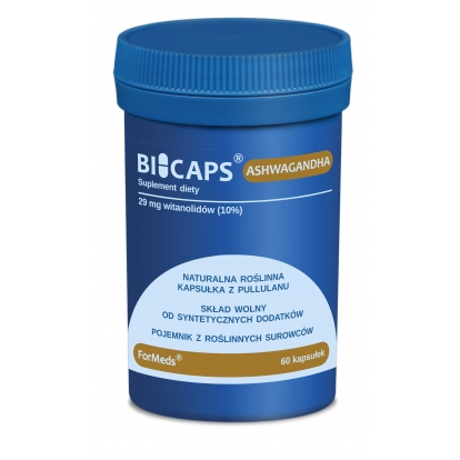 Formeds bicaps Ashwagandha 60 kaps.