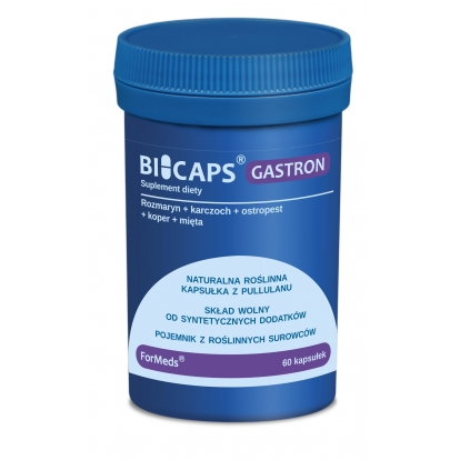 Formeds bicaps Gastron 60 kaps.