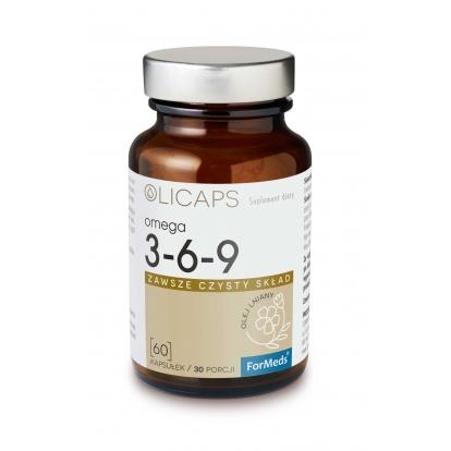 Formeds olicaps Omega 3-6-9 60 kaps.