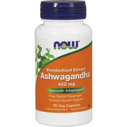Now Foods Ashwagandha 450 mg 90 kaps.