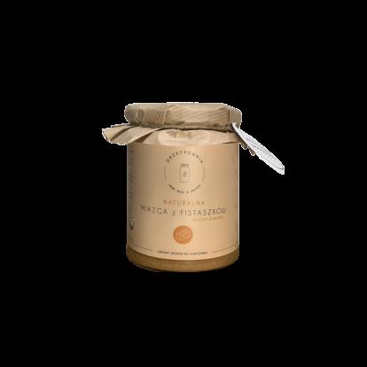 ORZECHOWNIA miazga z fistaszków słony karmel 500 g