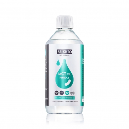 BeKeto Olej MCT 100% C8 500ml
