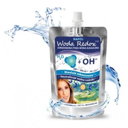 Woda Redox woda alkaliczna elektrolity 240 ml