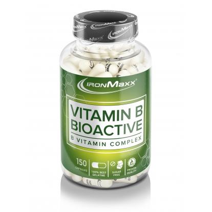 Ironmaxx Witamina B bioaktywna 150 kap.