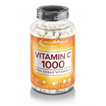 Ironmaxx Witamina C 1000 mg - 100 kaps.