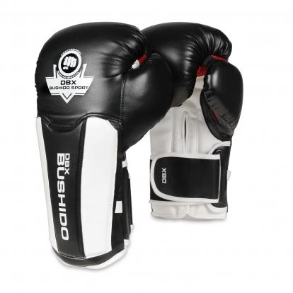 Bushido Rękawice bokserskie z systemem...