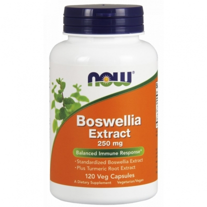 Now Foods Boswellia Extract 250 mg 120 weg. kaps.