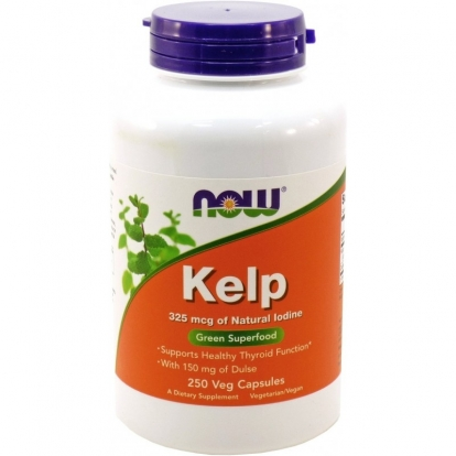 Now Foods Kelp / Jod 325 µg 250 weg. kaps.