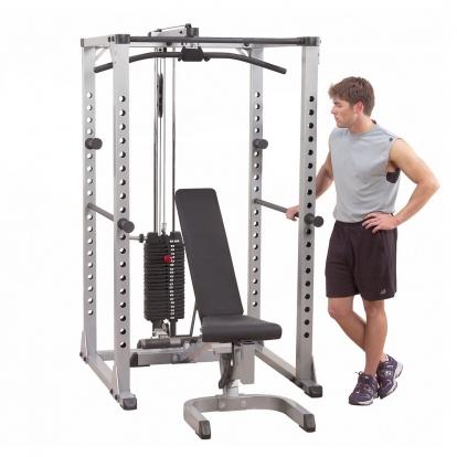 Body-solid klatka treningowa z wyposażeniem GPR378