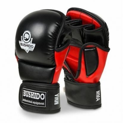 BUSHIDO ARM-2011 - RĘKAWICE SPARINGOWE MMA,...