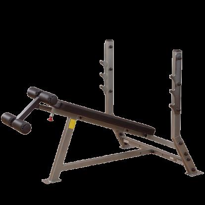 Body-Solid ławka ujemna, skos ujemny SBD351G