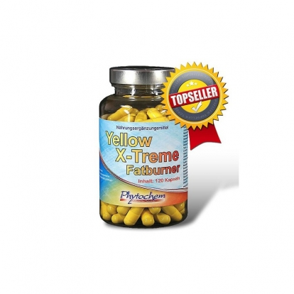 Phytochem Yellow X-Treme Fat Burner 120 kap.