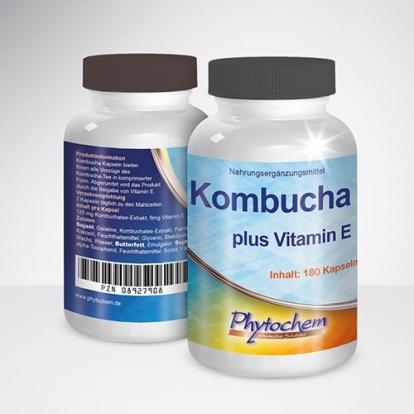 Phytochem KOMBUCHA 180 kap. - termin 03.20