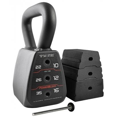 PowerBlock Regulowane Kettlebell 8-16kg