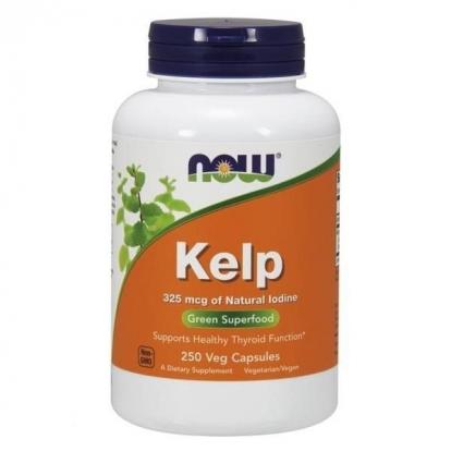 NOW Kelp (Jod) - 250 kap. wegetariańskich