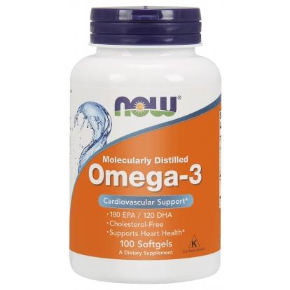 Now Omega 3 - 200 kapsułek żelowych