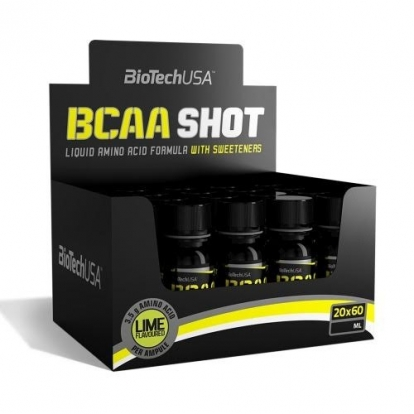 BioTechUSA BCAA SHOT 20x60ml