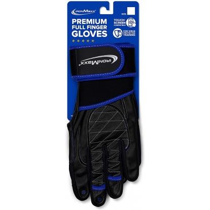 Ironmaxx Rękawice treningowe z pełnymi palcami