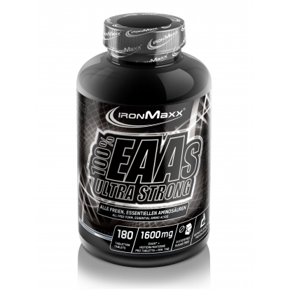 Ironmaxx 100% EAA Ultra Strong 180 tab