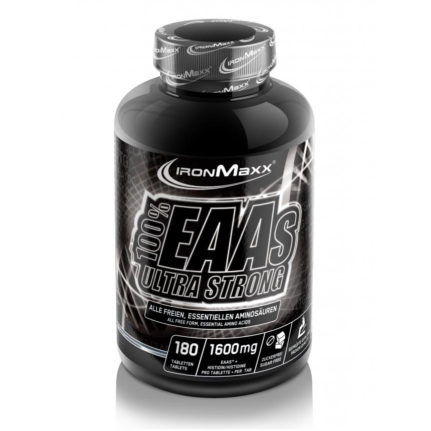 Ironmaxx 100% EAA Ultra Strong 180 tab