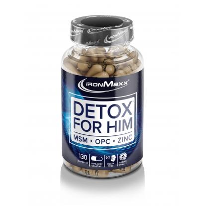 Ironmaxx Detox dla Niego 130 kap.