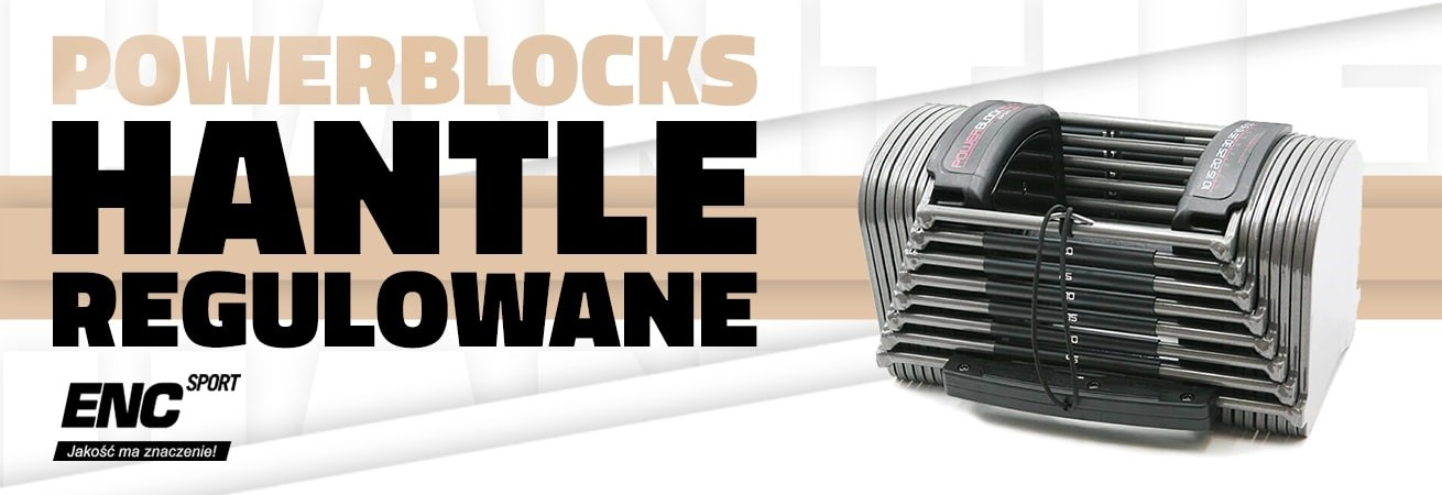 Hantle regulowane PowerBlock
